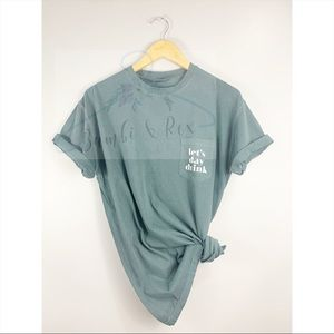NWT Let's Day Drink Comfort Colors T Shirt